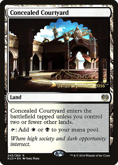 Concealed Courtyard [Kaladesh Promos] | Myrtle Beach Games & Comics
