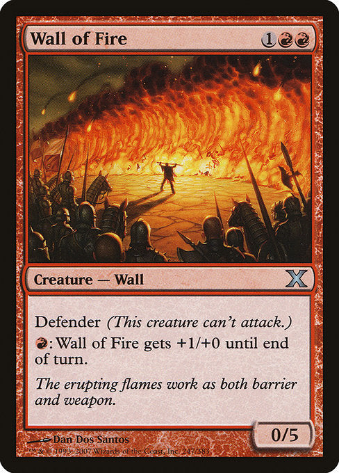 Wall of Fire [Tenth Edition] | Myrtle Beach Games & Comics