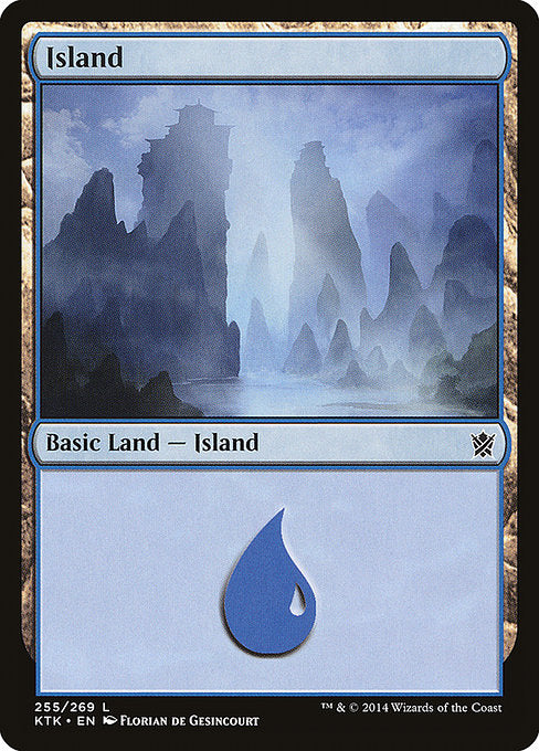 Island [Khans of Tarkir] | Myrtle Beach Games & Comics