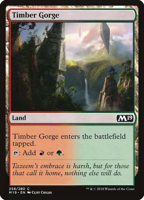 Timber Gorge [Core Set 2019] | Myrtle Beach Games & Comics
