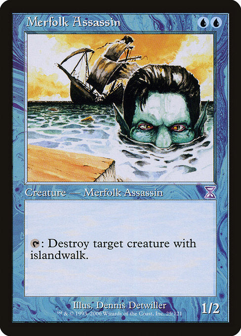 Merfolk Assassin [Time Spiral Timeshifted] | Myrtle Beach Games & Comics