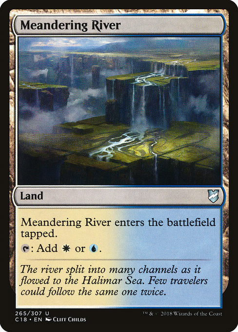 Meandering River [Commander 2018] | Myrtle Beach Games & Comics