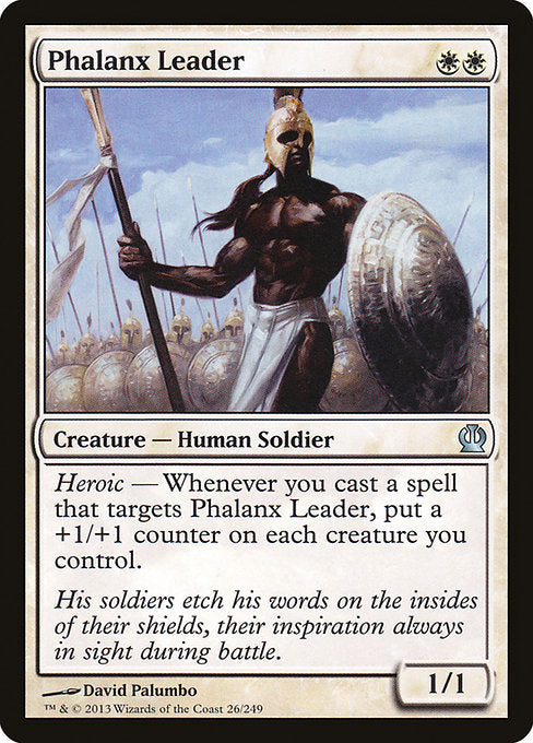 Phalanx Leader [Theros] | Myrtle Beach Games & Comics
