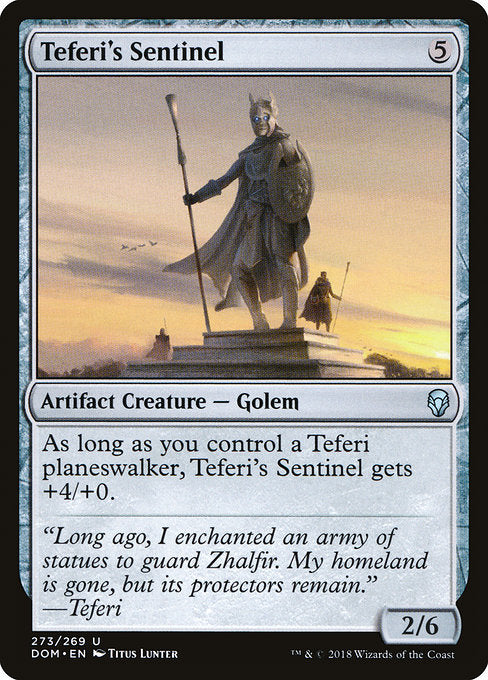 Teferi's Sentinel [Dominaria]  | My Pop Culture | New Zealand