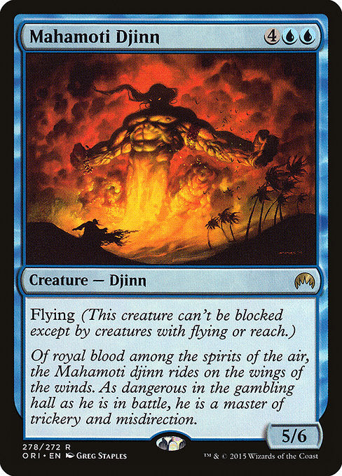 Mahamoti Djinn [Magic Origins] | Myrtle Beach Games & Comics