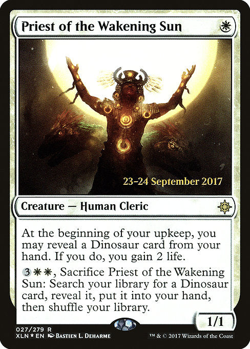 Priest of the Wakening Sun [Ixalan Promos] | Myrtle Beach Games & Comics