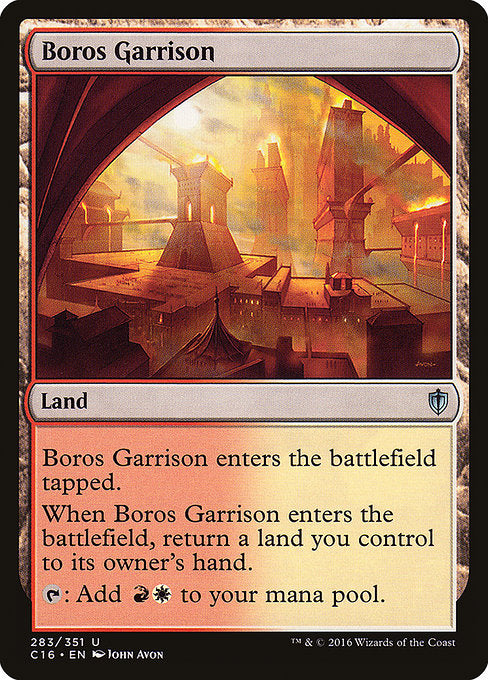 Boros Garrison [Commander 2016] | Myrtle Beach Games & Comics