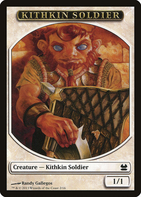 Kithkin Soldier [Modern Masters Tokens] | Myrtle Beach Games & Comics