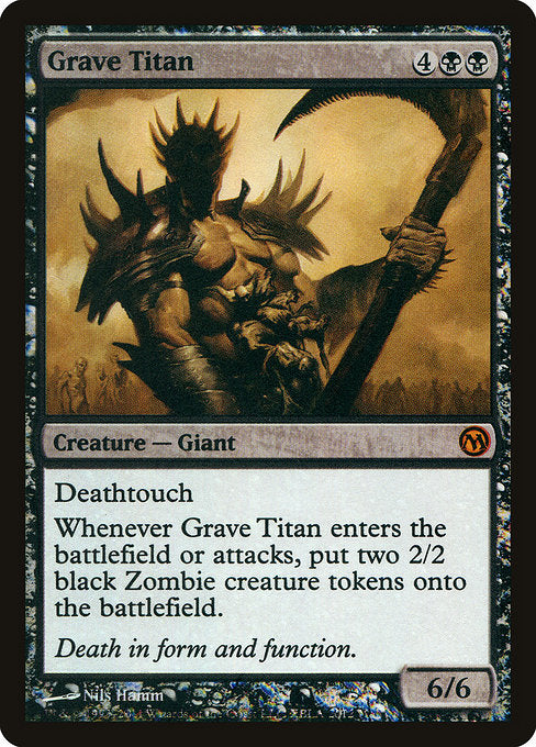 Grave Titan [Duels of the Planeswalkers Promos 2011] | Myrtle Beach Games & Comics