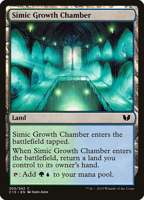 Simic Growth Chamber [Commander 2015] | Myrtle Beach Games & Comics