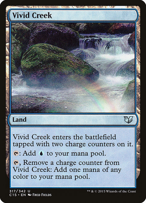 Vivid Creek [Commander 2015] | Myrtle Beach Games & Comics