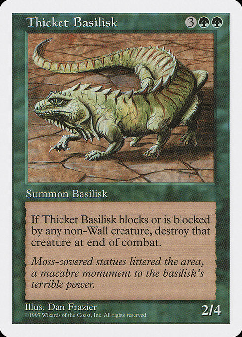 Thicket Basilisk [Fifth Edition] | Myrtle Beach Games & Comics