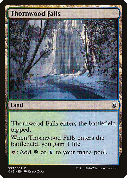 Thornwood Falls [Commander 2016] | Myrtle Beach Games & Comics