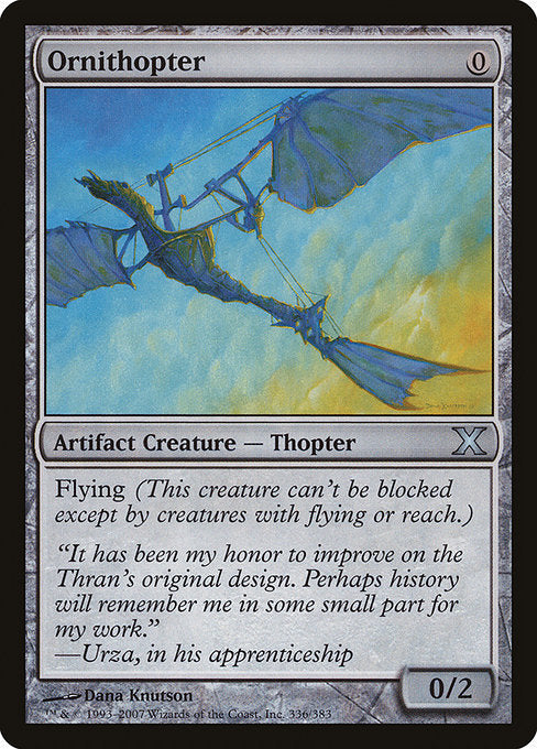 Ornithopter [Tenth Edition] | Myrtle Beach Games & Comics