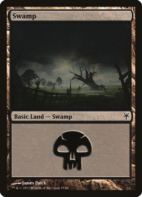 Swamp [Duel Decks: Sorin vs. Tibalt] | Myrtle Beach Games & Comics