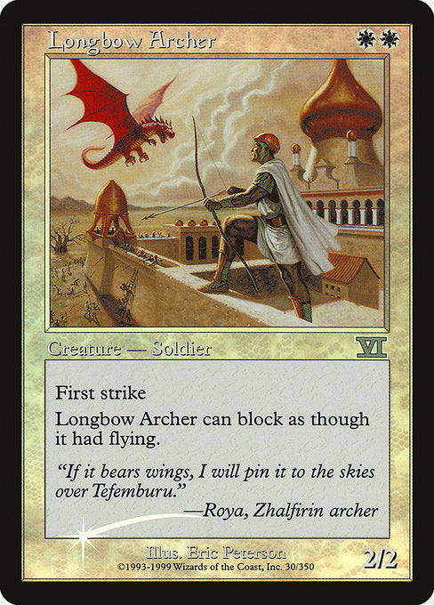 Longbow Archer [Friday Night Magic 2000] | Myrtle Beach Games & Comics