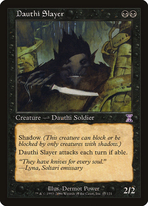 Dauthi Slayer [Time Spiral Timeshifted] | Myrtle Beach Games & Comics