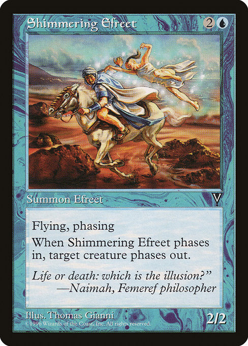 Shimmering Efreet [Visions] | Myrtle Beach Games & Comics