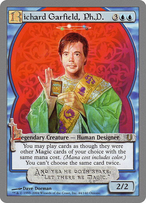 Richard Garfield, Ph.D. [Unhinged] | Myrtle Beach Games & Comics