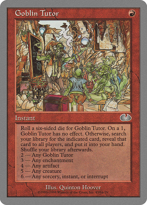 Goblin Tutor [Unglued]  | My Pop Culture | New Zealand