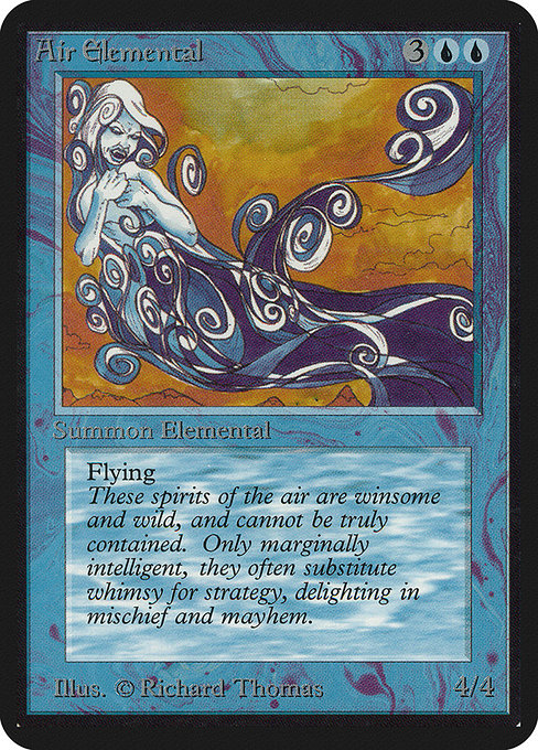 Air Elemental [Limited Edition Alpha] | Myrtle Beach Games & Comics