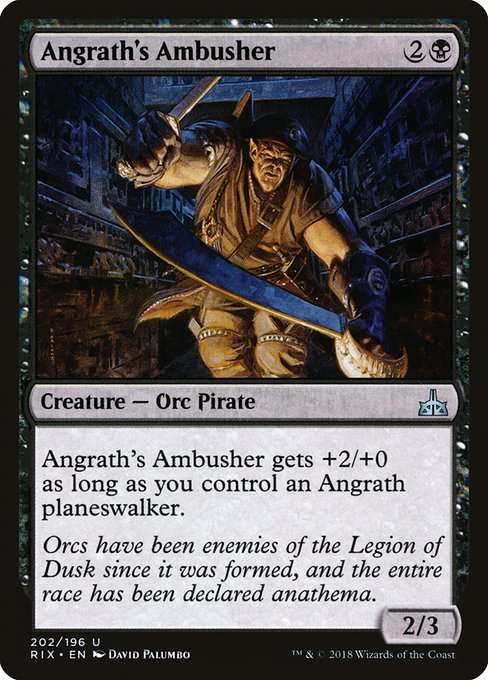 Angrath's Ambusher [Rivals of Ixalan] | Myrtle Beach Games & Comics