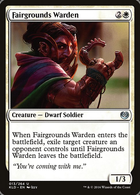Fairgrounds Warden [Kaladesh] | Myrtle Beach Games & Comics