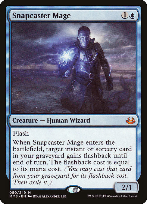 Snapcaster Mage [Modern Masters 2017] | Myrtle Beach Games & Comics