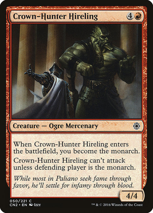 Crown-Hunter Hireling [Conspiracy: Take the Crown] | Myrtle Beach Games & Comics