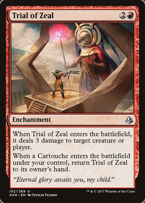 Trial of Zeal [Amonkhet] | Myrtle Beach Games & Comics
