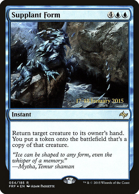Supplant Form [Fate Reforged Promos] | Myrtle Beach Games & Comics