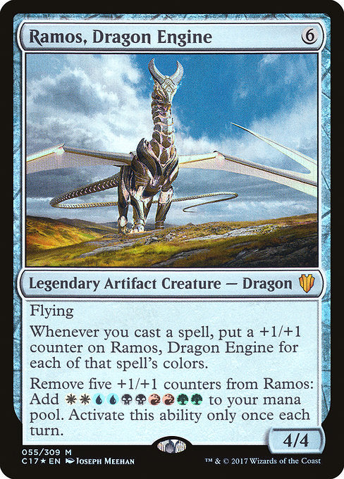 Ramos, Dragon Engine [Commander 2017] | Myrtle Beach Games & Comics