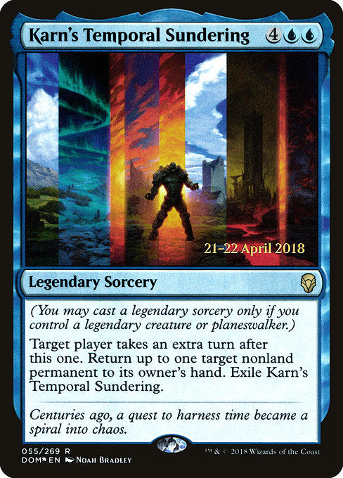 Karn's Temporal Sundering [Dominaria Promos]  | My Pop Culture | New Zealand