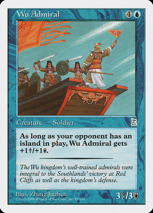 Wu Admiral [Portal Three Kingdoms] | Myrtle Beach Games & Comics