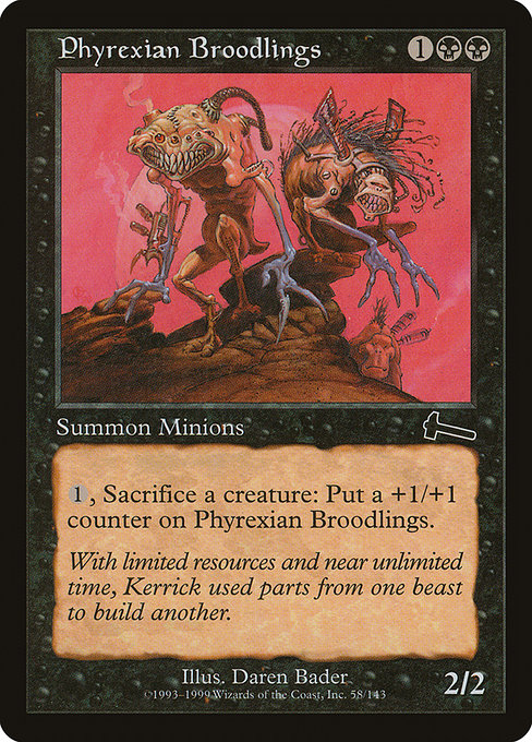 Phyrexian Broodlings [Urza's Legacy] | Myrtle Beach Games & Comics