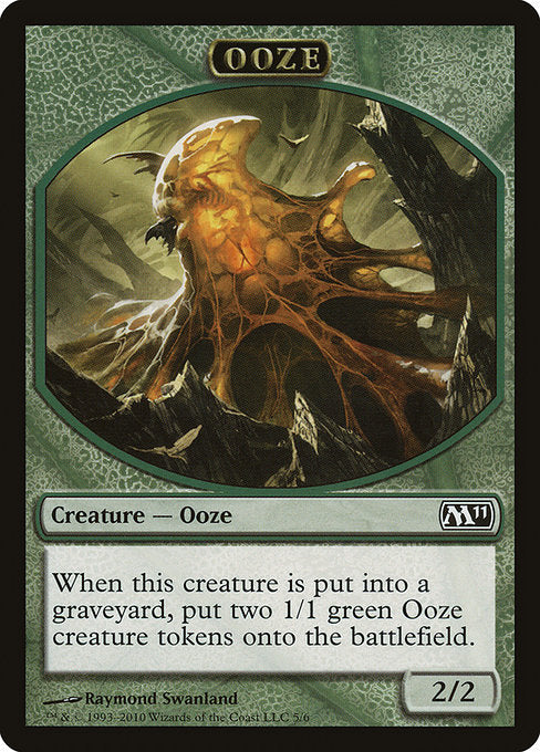 Ooze [Magic 2011 Tokens] | Myrtle Beach Games & Comics