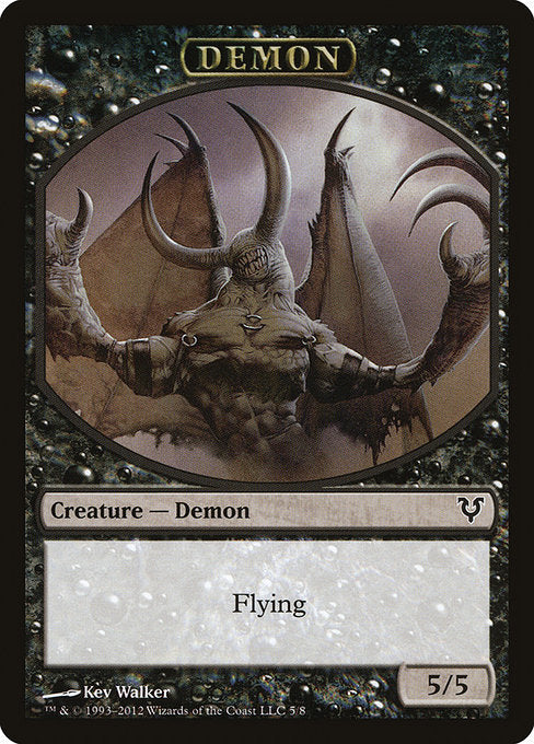 Demon [Avacyn Restored Tokens] | Myrtle Beach Games & Comics