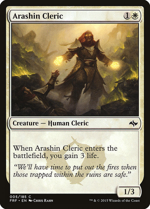 Arashin Cleric [Fate Reforged] | Myrtle Beach Games & Comics