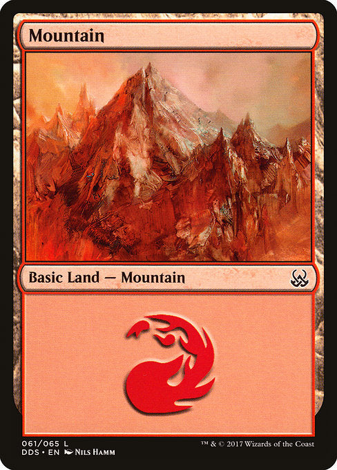 Mountain [Duel Decks: Mind vs. Might]  | My Pop Culture | New Zealand