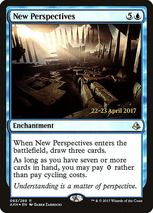 New Perspectives [Amonkhet Promos] | Myrtle Beach Games & Comics