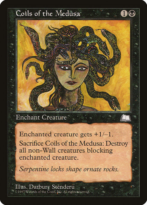 Coils of the Medusa [Weatherlight] | Myrtle Beach Games & Comics