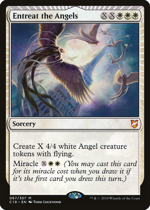 Entreat the Angels [Commander 2018] | Myrtle Beach Games & Comics