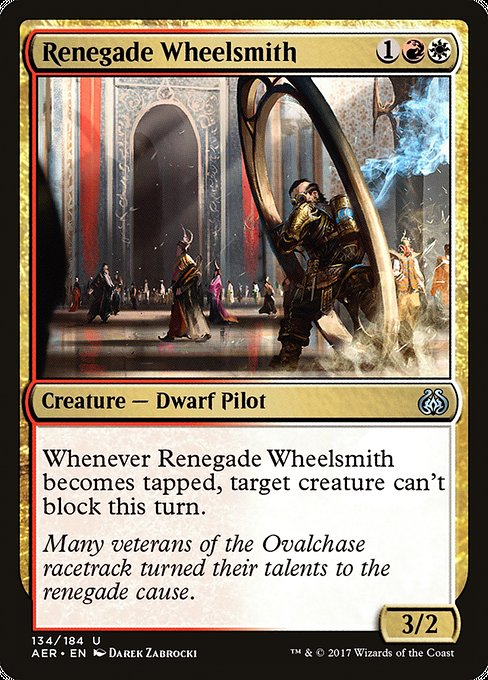 Renegade Wheelsmith [Aether Revolt] | Myrtle Beach Games & Comics