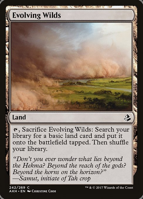 Evolving Wilds [Amonkhet] | Myrtle Beach Games & Comics
