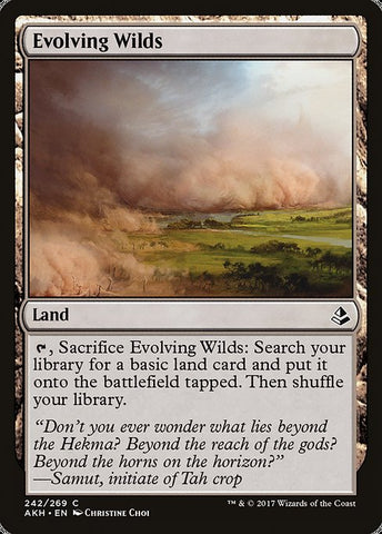 Evolving Wilds [Amonkhet]