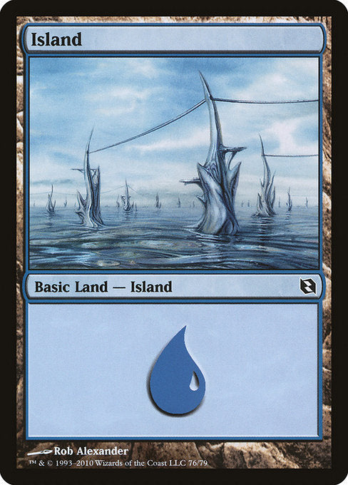 Island [Duel Decks: Elspeth vs. Tezzeret] | Myrtle Beach Games & Comics