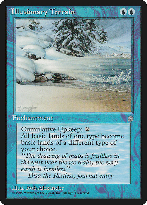 Illusionary Terrain [Ice Age] | Myrtle Beach Games & Comics
