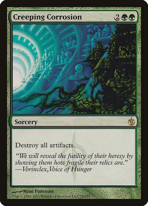 Creeping Corrosion [Mirrodin Besieged]  | My Pop Culture | New Zealand