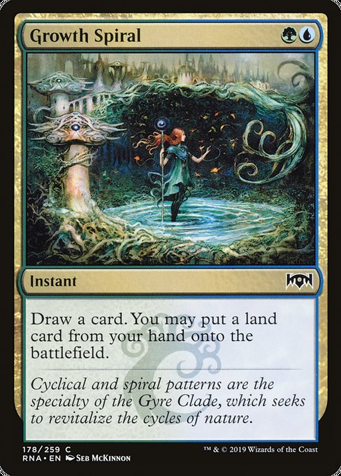 Growth Spiral [Ravnica Allegiance] | Myrtle Beach Games & Comics