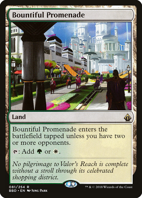 Bountiful Promenade [Battlebond] | Myrtle Beach Games & Comics